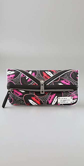 L.A.M.B. Kiss Me Haughton Clutch