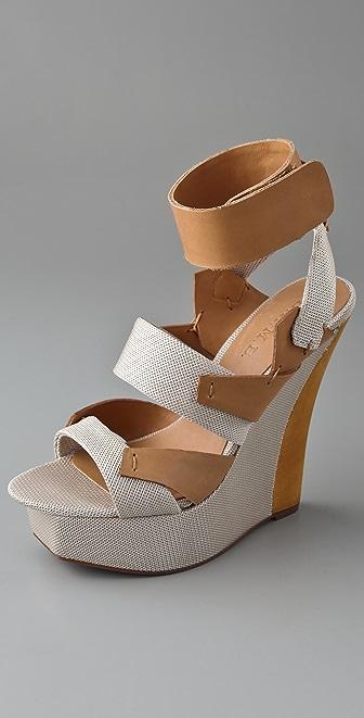 L.A.M.B. Kapono Techno Fabric Sandals