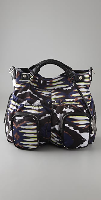 L.A.M.B. Freestyle Ikat Brandywell Large Cross Body Bag
