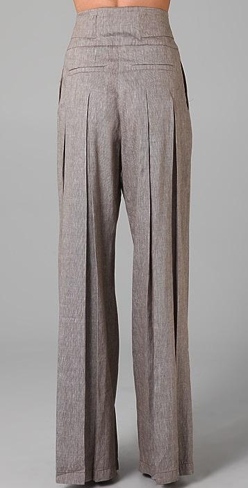 L.A.M.B. Cross Dye Wide Leg Pants