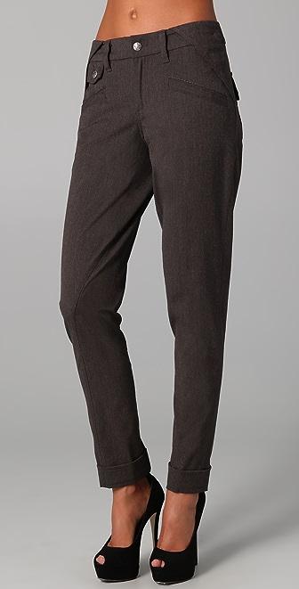 L.A.M.B. Cuffed Skinny Trousers