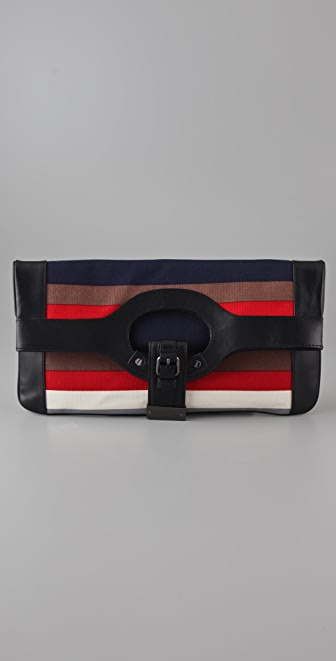 L.A.M.B. Dakota Convertible Clutch / Tote