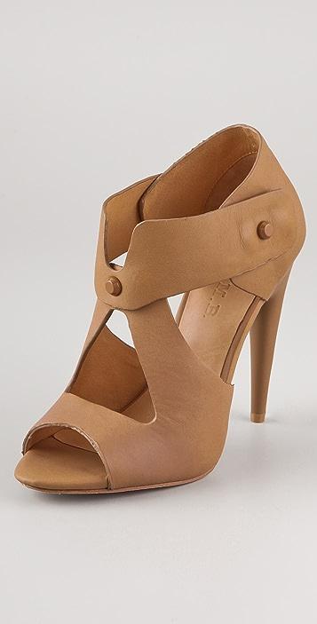 L.A.M.B. Miyo Stud Sandals