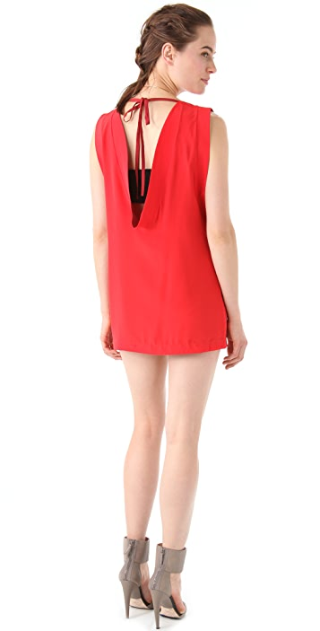 L.A.M.B. Sleeveless Mini Dress