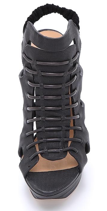 L.A.M.B. Ibbie Platform Sandals