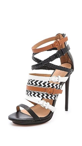 L.A.M.B. Jessie Strappy Sandals