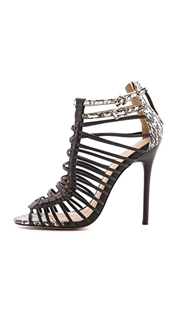 L.A.M.B. Payton Strappy High Heel Sandals