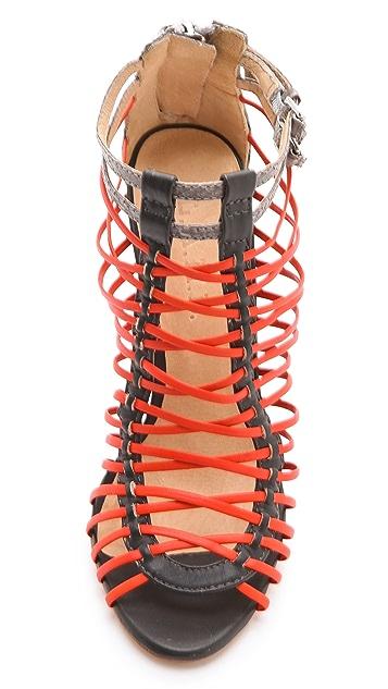 L.A.M.B. Payton Strappy High Heel Sandals