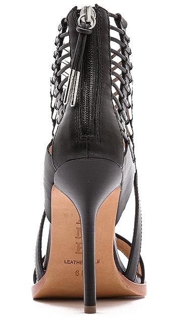 L.A.M.B. Fiona Cutout Sandals