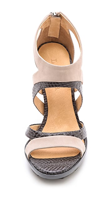 L.A.M.B. Follie Cutout Sandals