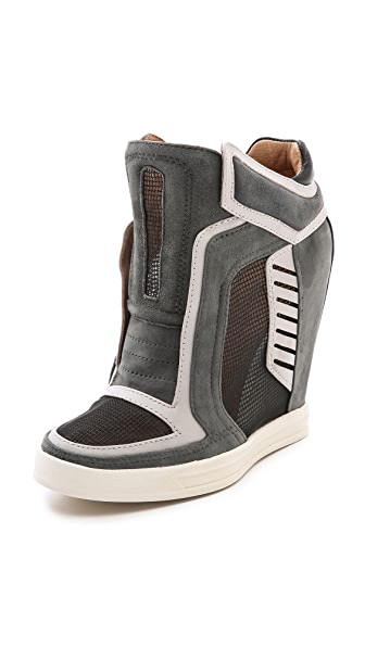 L.A.M.B. Freeda Wedge Sneakers