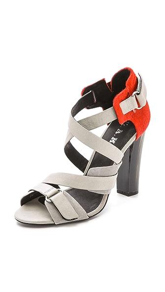 L.A.M.B. Korry Haircalf Sandals