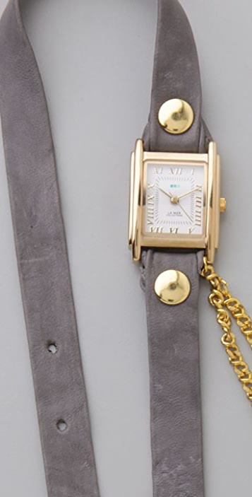 La Mer Collections Double Chain Wrap Watch