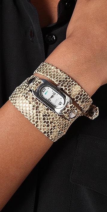 La Mer Collections Cobra Soho Wrap Watch