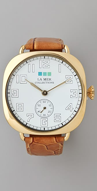 La Mer Collections Oversize Vintage Watch