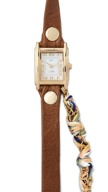 La Mer Collections Primary Friendship Bracelet Watch