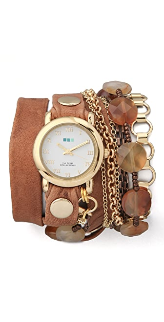 La Mer Collections Sedona Stones Watch