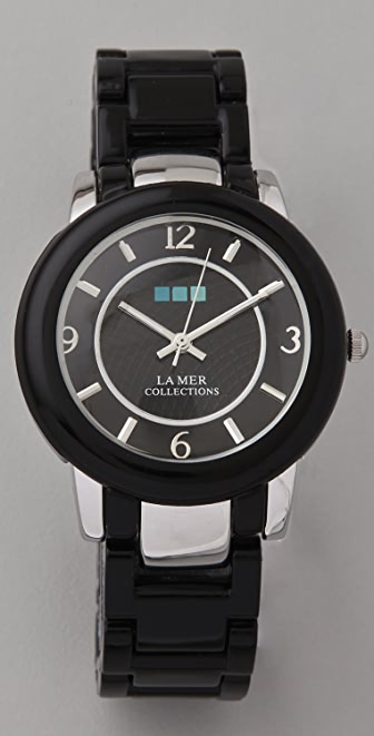 La Mer Collections Indo Lucite Watch