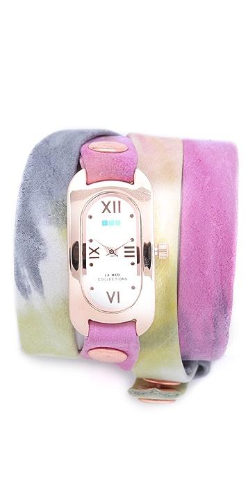 La Mer Collections Soho Wrap Watch