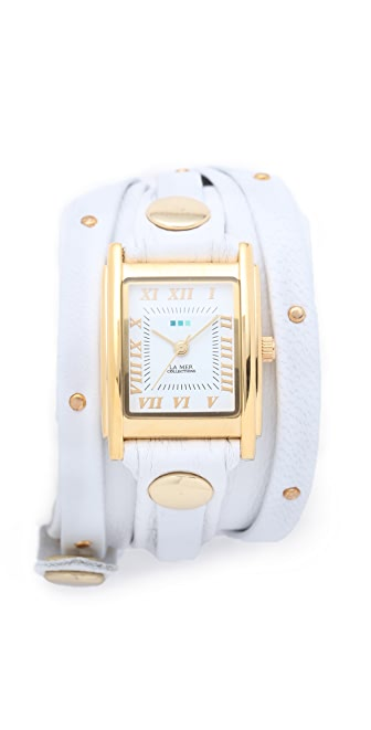 La Mer Collections Studded Wrap Watch