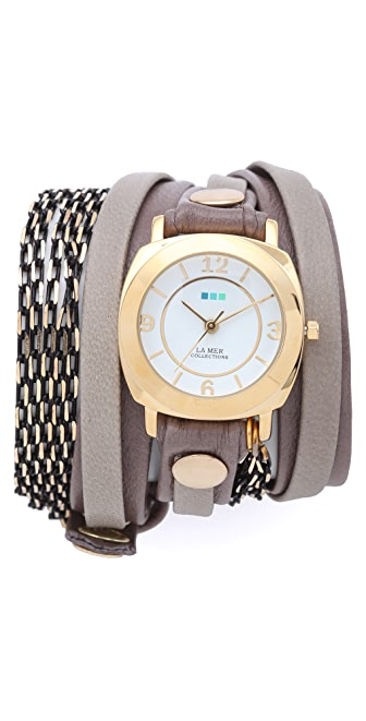 La Mer Collections Aperitif Chain Wrap Watch