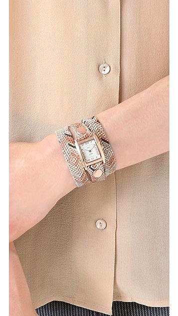 La Mer Collections Limited Edition Paris Aztec Wrap Watch