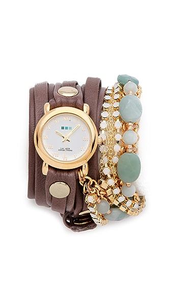 La Mer Collections Venetian Stones Wrap Watch