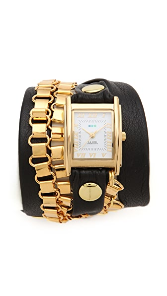La Mer Collections Egyptian Chain Wrap Watch