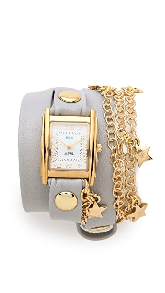 La Mer Collections Star Charms Wrap Watch
