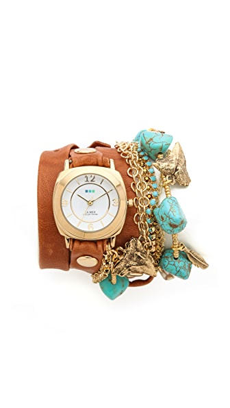 La Mer Collections Charm Wrap Watch