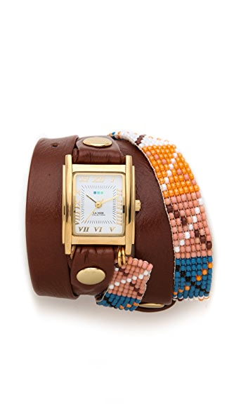 La Mer Collections Guatemala Wrap Watch