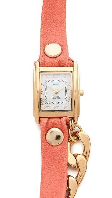 La Mer Collections Malibu Wrap Watch