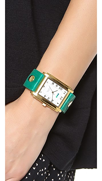 La Mer Collections Square Oversized Watch