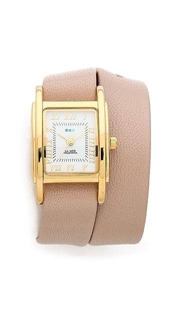 La Mer Collections Interchangeable Wrap Watch Box Set