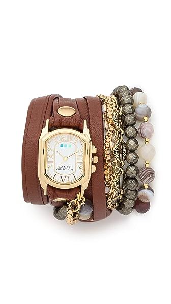 La Mer Collections Positano Wrap Watch