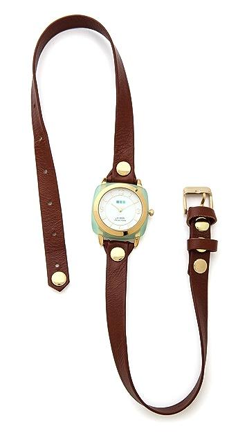 La Mer Collections Chrysoprase Wrap Watch