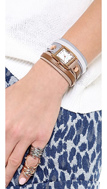 La Mer Collections Montreal Wrap Watch