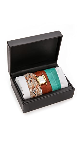 La Mer Collections Aztec Interchange Watch Box Set
