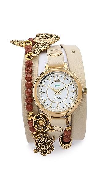 La Mer Collections Amulet Wrap Watch