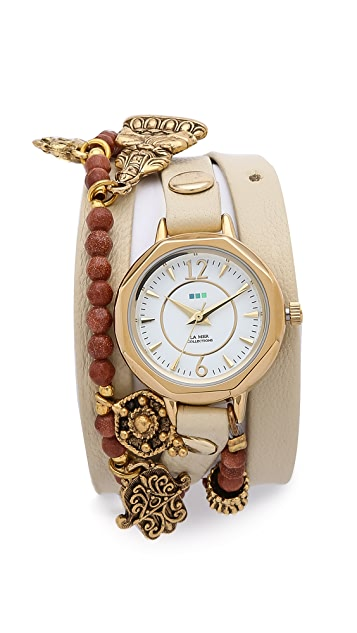 La Mer Collections Amulet Wrap Watch