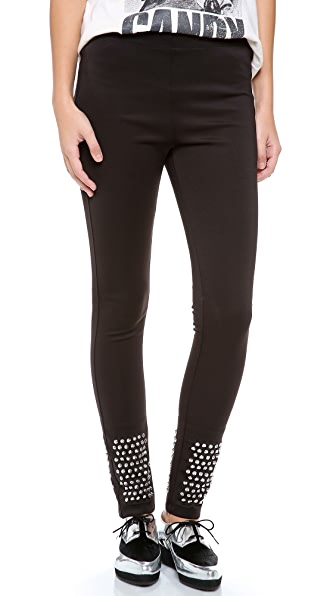 L'AMERICA LA Studded Leggings