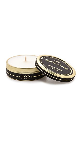 Land by Land Pine Needle Travel Candle