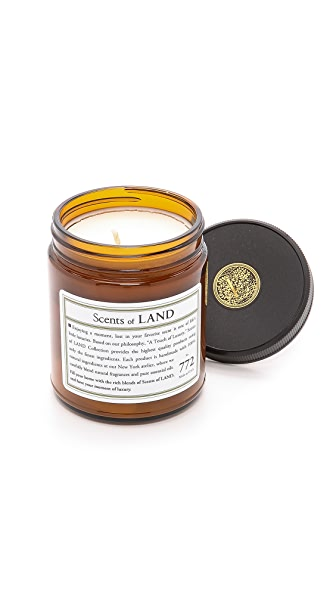 Land by Land Oak Candle