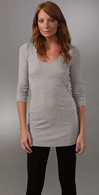 Lanston Long Sleeve Scoop Tunic