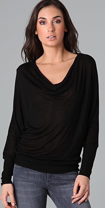 Lanston Double Drape Top
