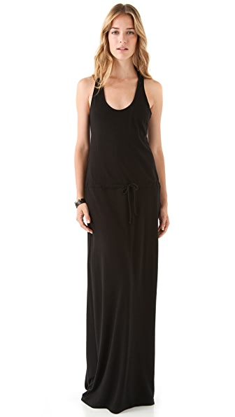 Lanston Racer Back Maxi Dress