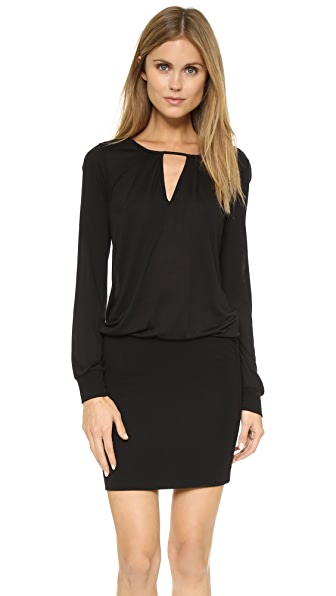 Lanston Cutout Mini Dress - Black
