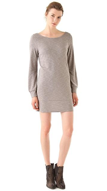 Lanston Cross Back Mini Shift Dress