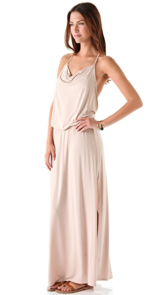 Lanston Drape Racer Back Maxi Dress | 15% off first app purchase ...