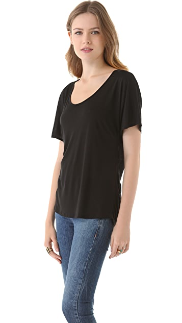 Lanston Drape Back Top